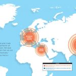 global grain trade map